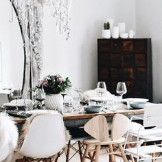 I mean, I know it wouldn't stay like that with the boys in my house, but we could try couldn't we 🤷🏼♀️ … The Nofred… Room Goals, My House, Table Settings, Dining Room, Table Decorations, Furniture, Boys, Design, Home Decor