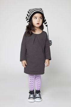 MINIMALIST - WINTER #Graphite Dress