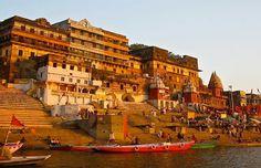 Embrace your spirituality in Varanasi...