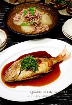 鯛の煮つけとか大根のそぼろ煮とか。 by JUNA(神田智美)さん ...