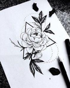 Super drawing tattoo design stencil art Ideas Tattoos And Body Art tattoo stencils Rose Tattoos, Flower Tattoos, Body Art Tattoos, Small Tattoos, Tatoos, Tattoo Design Drawings, Flower Tattoo Designs, Tattoo Sketches, Rose Drawing Tattoo