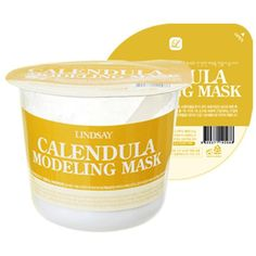 Modeling Rubber Mask - Calendula #anti-aging #combination #dry