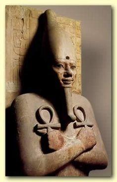 Pharaoh Senwosret I (Sesostris I) of the 12th Dynasty #OromoEgypt