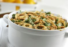 Excellent Green Bean Casserole. Photo by Campbells Kitchen