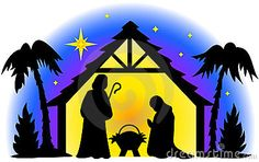 royalty free stock images nativity silhouette image 931989
