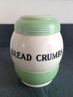 Bread Crumbs jar
