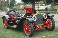 The legendary Stutz Bearcat; this one from 1912.390ci, 60hp, 4-cylinder engine. In 1912 it won 25 of the 30 races it entered. Stutz Motor Co. was in business in Indianapolis, Indiana from 1911-1935
