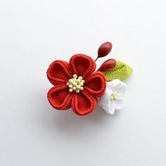 tumami*ちんまり祝い花 クリップ