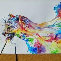 Rainbow Leopard  ♡