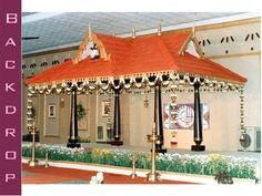 Wedding Ceremony Decorations, Flower Decorations, Trousseau Packing, Church Stage Design, Traditional Indian Wedding, Wedding Plates, Wedding Background, Indian Weddings, Entrance