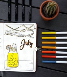 ▪ July cover page This month is dedicated to light with all tinsels and summer's cocktails in yellow-orange colours. Who dislike having a…