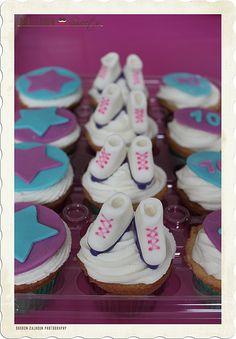 Roller Skate Cupcakes | Flickr - Photo Sharing!