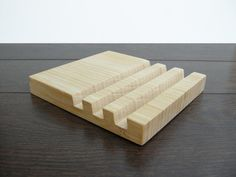 3 slots Charging station. iPad stand. iPhone stand. by Magowood