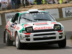 Toyota Celica GT-Four ST185 #rally_cars