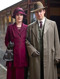 The Downton Abbey cast are off to the Scottish highlands for the Christmas special