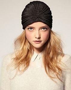 Fashion Great Gatsby Black Turban Hat Headwrap by Craftasy on Etsy, $9.99
