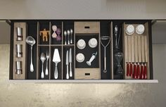 The Cut Kitchen - details of #drawers
