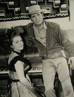 Mike & Regina Gleason on set of Bonanza, Credit For a Kill