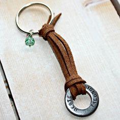 personalisierter Schlüsselanhänger  von Schneiders Schwester auf DaWanda.com