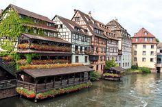 Strasbourg's historic Petite-France district