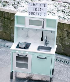This Hight Quality Picture about Kitchenette Ikea Mini Kitchenette Kitchenette Ikea Pour Studio from Mini Keuken Ikea, and this pictures name is design keukens , source:burevestnik. More pictures about design keukens. Ikea Kids Kitchen, Toy Kitchen, Hacks Ikea, Ikea Toys, Childrens Kitchens, Cubby Houses, Ideas Hogar, Toy Rooms, Kids Corner