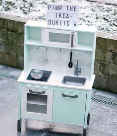 IKEA Duktig Kinderküche in Mint - so traumhaft hübsch.