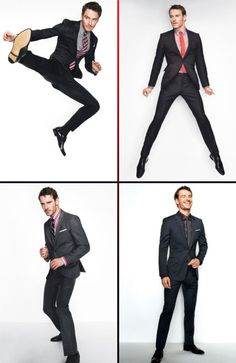 Michael Fassbender. Suits and his long ass legs! Mmm