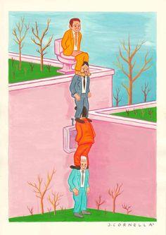 Beautifully crude, rude and lewd drawings from Joan Cornella!
