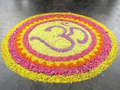 15 Best Pookalam Rangoli Designs