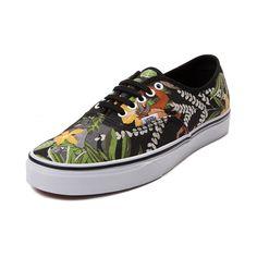 Disney and Vans Authentic Jungle Book Skate Shoe
