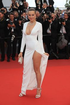 Best Celebrity Red Carpet Dresses From Cannes Film Festival 2017 - Cannes Red Carpet Looks Pink Prom Dresses, Backless Prom Dresses, Red Carpet Dresses, Sexy Dresses, Fashion Dresses, Club Dresses, Party Dresses, Celebrity Dresses, Celebrity Style