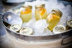 Premixed Cocktails! No more lines at the bar for your guests! | Cassandra & Company Weddings