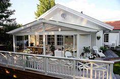 inglasad altan långsida hus - Sök på Google