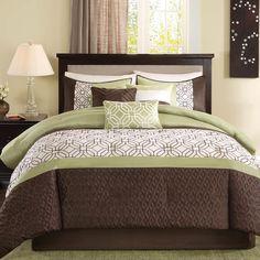 Found it at Wayfair - Briggs 7 Piece Comforter Set