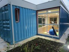 Shipping container gym