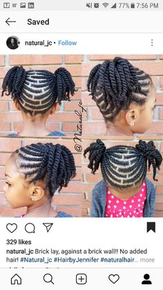Brick lay, against a brick wall! No added hair! Call 8624388630 to book! Cute Little Girl Hairstyles, Little Girl Braids, Natural Hairstyles For Kids, Baby Girl Hairstyles, Kids Braided Hairstyles, Braids For Kids, Natural Hair Tips, Natural Hair Styles, Childrens Hairstyles