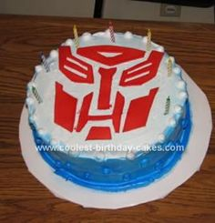 Coolest Transformers Birthday Cake 31