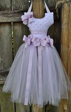 Purple Polka dot Bow Holder