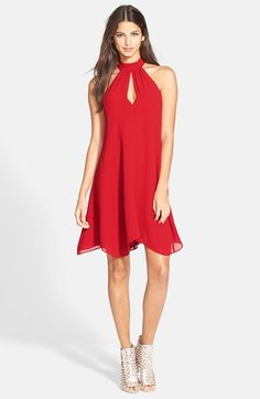 Tildon Halter A-Line Dress | Nordstrom