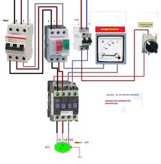 Electrical Circuit Diagram, Electrical Work, Electrical Installation, Electrical Engineering, Electronics Basics, Electronics Projects, Refrigeration And Air Conditioning, House Wiring, Arduino Projects