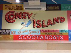 Venmo Coney Island Mural - COLT BOWDEN