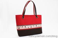 Ribbon City Bag   Nancy Zieman   Renaissance Ribbons