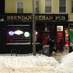 Brendan Behan Pub 378 Centre St Jamaica Plain MA(617) 522-5386