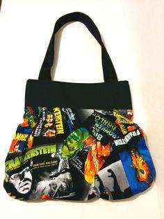 Frankenstein Handbag by AngelCityArts on Etsy