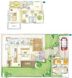 モデル邸の間取り公開!! | 【遠鉄ホーム】女性目線で作るモデルハウス建築日記