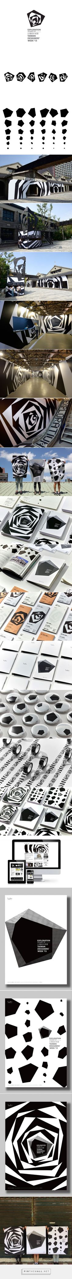 Visual identity of Taiwan designers' week 2015 on Behance