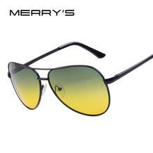 bfe33802f2 MERRY S Men Polaroid Sunglasses Night Vision Driving Sunglasses 100% Polarized  Sunglasses(China (Mainland))