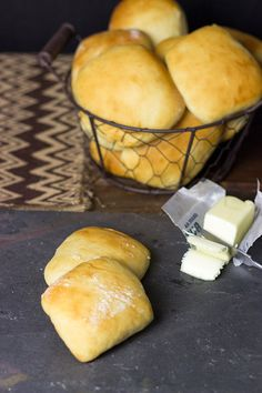 A basket of these warm Easy Yeast Rolls is the perfect addition to any dinner table