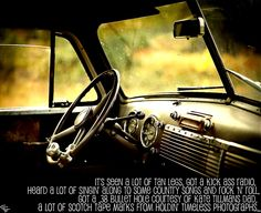 """""""The Dashboard"""" - Chris Young"""