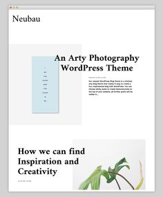 Neubau Premium WordPress Theme Wordpress Theme Design, Premium Wordpress Themes, Online Store Builder, Free Website, Blog, Web Design, Creative, Inventors, Fun